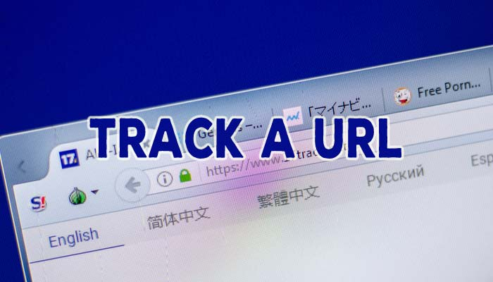 Click On Track A URL