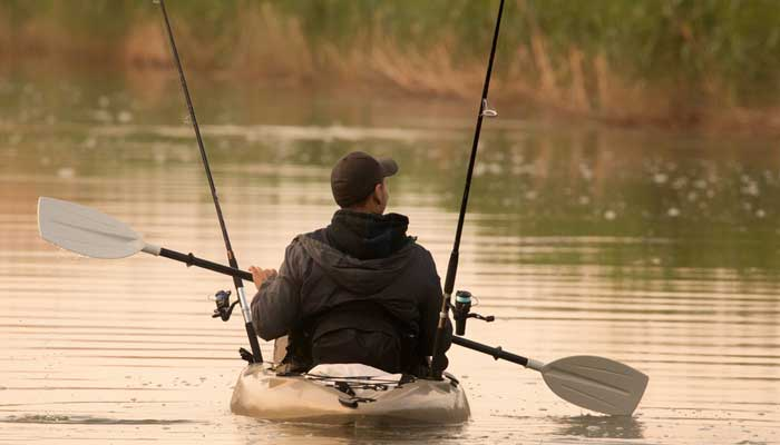 different length kayak for fishing